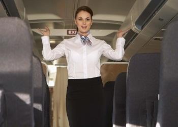 pramugari stewardess transparan